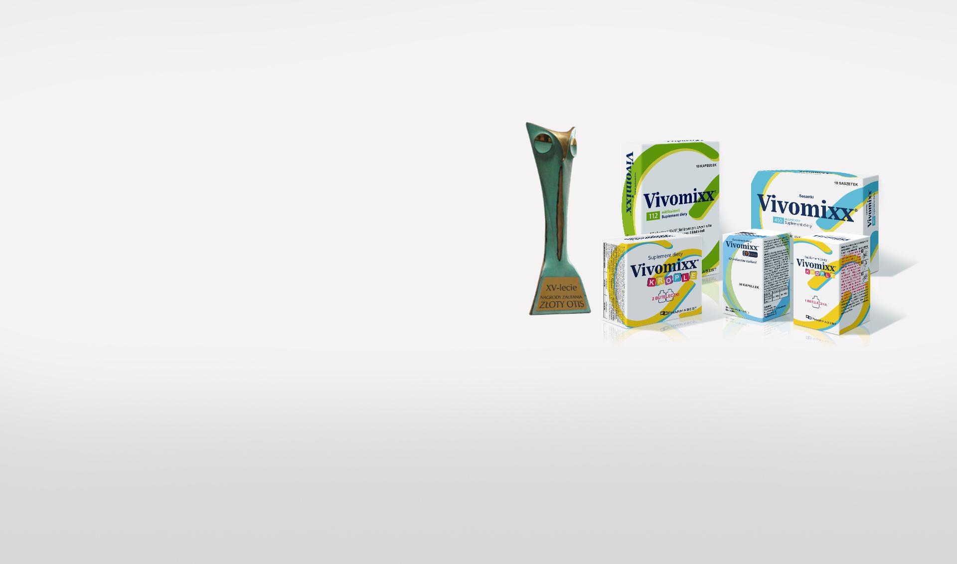 Złoty Otis dla Vivomixx<sup>®</sup>